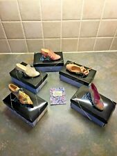 Collection of Five Rare Just The Right Shoe By Raine - Miniature Shoe Ornaments
