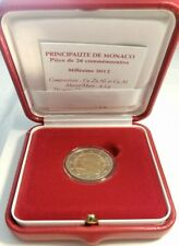 """Monaco 2 Euro BE 2012 """"Cinq siècles de souveraineté"""" Etui, mit Zertifikat"""