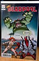 DEADPOOL #1 *BALDEON VARIANT COVER* BAGGED & BOARDED ($4.99) Marvel Comic 2019