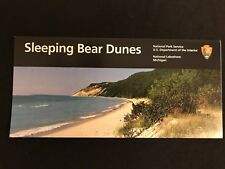 National Park Official Map & Guide Sleeping Bear Dune - building sites & map