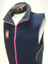 ADIDAS Vest Reversible Black Fleece Navy Teal Pink FR0595 Hiking Outdoor Mens M