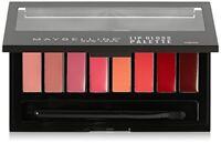 Maybelline New York Lip Gloss Pallette, 8 Shades, with Brush Included