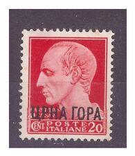 MONTENEGRO  1941 - IMPERIALE SOPRASTAMPATI  Centesimi 20  **