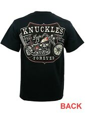 "Lucky 13 "" Knuckles Forever"" T-Shirt - (New) - Harley Davidson"