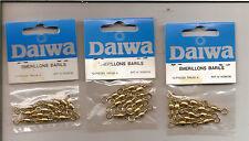 N°5040-3paquets de 12 émerillons baril Daiwa-N°4 neufs