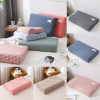 Pillow Case Latex Pillowcase Contour Memory Foam Cotton Rebound Pillow Cover