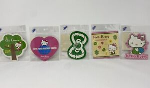 New Sanrio Hello Kitty Go Green Eco Friendly Recycling Stickers Love Our Planet