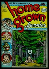 Kitchen Sink HOME GROWN Funnies #1 2nd Print VFN 8.0 Adult Only