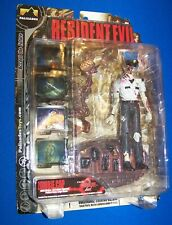 Palisades Resident Evil Zombie Cop white shirt action figure Capcom