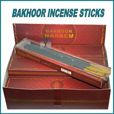 BAKHOOR NASEEM OUDH INCENSE STICKS TOP QUALITY SCENT ARABIAN SCENTS WOODY OUD