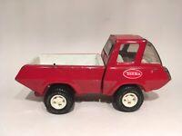 Vintage 1970s Tonka Pressed Steel Red Pickup Truck Toy