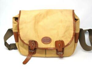 Canon EOS Khaki/Tan Canvas Shoulder Bag