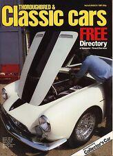 Thoroughbred & Classic Cars - November 1981