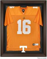 Tennessee Volunteers Brown Framed Logo Jersey Display Case - Fanatics Authentic