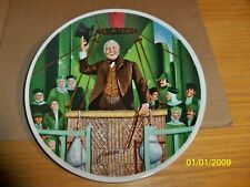 "Wizard Of Oz Collector Plates,""The Wonderful Wizard Of Oz"" Seventh Issue in S."