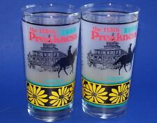 Pimlico 113 Preakness Glass Tumbler 1988 Horse Race Baltimore MD Black Eye Susan