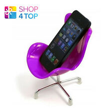 MOBILE CELL PHONES iPHONE HOLDER MINI CHAIR DESK STAND HOME OFFICE PINK NEW