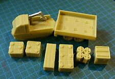 Mule cargo carrier and cargo 25-28mm scale. Stargrunt Sci-Fi by Daemonscape