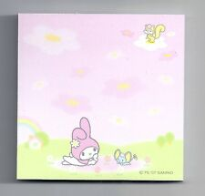 Sanrio My Melody Sticky Notes 2 Designs One Pad