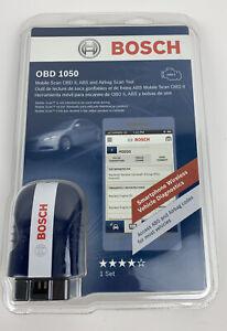 Bosch OBD 1050 Mobile Scan Diagnostics New in Sealed Code Scanner Car Engine