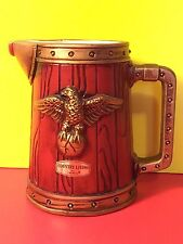 VINTAGE Country Living INARCO Red Pitcher Mug With Eagle Collectible Gift