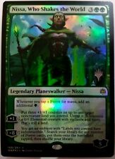 MTG: War of the Spark 'Nissa, Who Shakes the World' FOIL Promo - Rare #169 NM