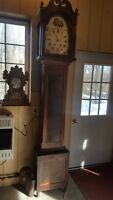 Antique American Tall Case / Grandfather Clock 8-Day c. 1800