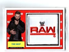 WWE The Miz 2017 Topps Heritage Raw Com Patch Relic Card SN 272 of 299