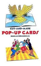 NEW Cut-and-Make Pop-Up Cards by Duncan Birmingham (1998, Paperback)