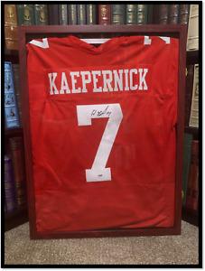 San Francisco 49ers Jersey ✎SIGNED🏈 by COLIN KAEPERNICK New PSA DNA COA XL