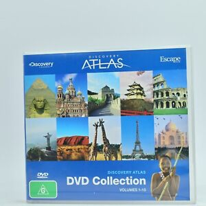 DISCOVERY ATLAS DVD COLLECTION VOLUMES 1 - 10 DVD Good Condition