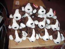 (1) DOZEN RETIRED TY BRUNO the DOG BEANIES*BIRTHDAY SEPT 9,1997*12 CT* MWMT