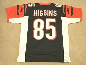 UNSIGNED CUSTOM Sewn Stitched Tee Higgins Black Jersey - M, L, XL, 2XL