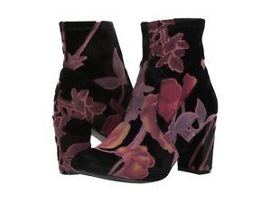 New STEVE MADDEN EMISON-V, BURGUNDY VELVET  women's   boots