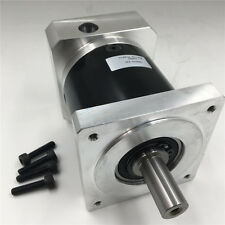 Free DHL!Geared Reducer 10:1 Planetary NEMA34 Gearbox 16mm Shaft Speed Reduction