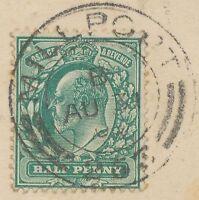 "GB SCOTTISH VILLAGE POSTMARKS ""MILLPORT / 253"", Isle of Great-Cumbrae (28 mm)"