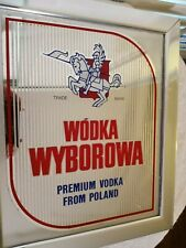 Wodka Bar Mirror  - Polish Vodka - Vee-Ba-Rova