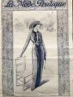 MODE PRATIQUE April 5,1913 + sewing patterns - Blouses, dresses, Costumes