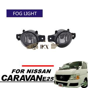 Auto Clear o Driving Fog Lights Fog lamps For NISSAN Caravan URVAN E25 Van
