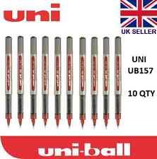 Uni Ball Ojo 10 X UB-157 Color Rojo Rollerball Pluma Barato!