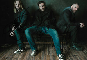Seether Band full signed 8x12 inch photo autographs