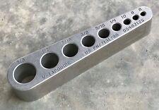 Helps gunsmiths tap gun parts, barrels, pistols & jigs - Tap Guide -V-TapGuide