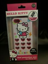 New Hello Kitty Dual Protection Phone Case for Iphone 5c
