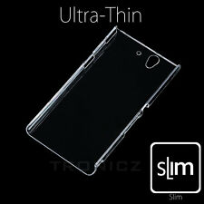 Ultra Clear Transparent Hard Slim Case Cover for Sony Xperia Z3 with Free Film