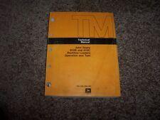 John Deere 610B 610C Backhoe Loader Operation & Test Technical Manual TM1446