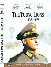 The Young Lions All Region DVD Marlon Brando, Montgomery Clift, Dean NEW UK R2