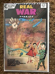 Real War Stories #1 Eclipse Comics 1987