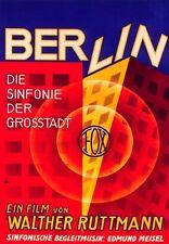 Berlin Symphony of a Metropolis 1927  / Opus 1 1922 Ruttmann Silent Film Doc DVD