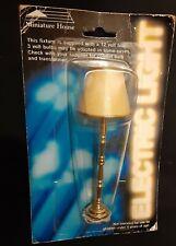 Dollhouse Miniature House 1:12 Floor Light Lamp Electric 12V New NIP
