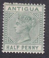 Antigua QV 1882 - 1/2d Green - SG21 - Mint Hinged (E1A)